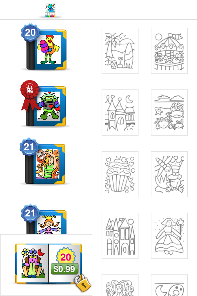 Colorama - Kids Coloring Book App - 4