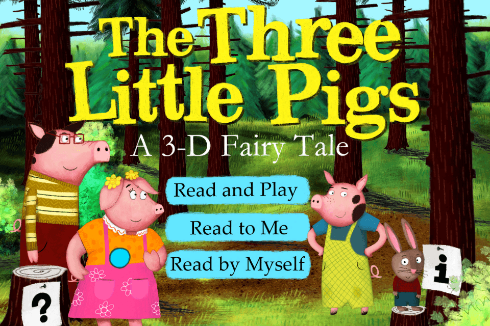 The Three Little Pigs-Nosy Crow animated storybook App - 2