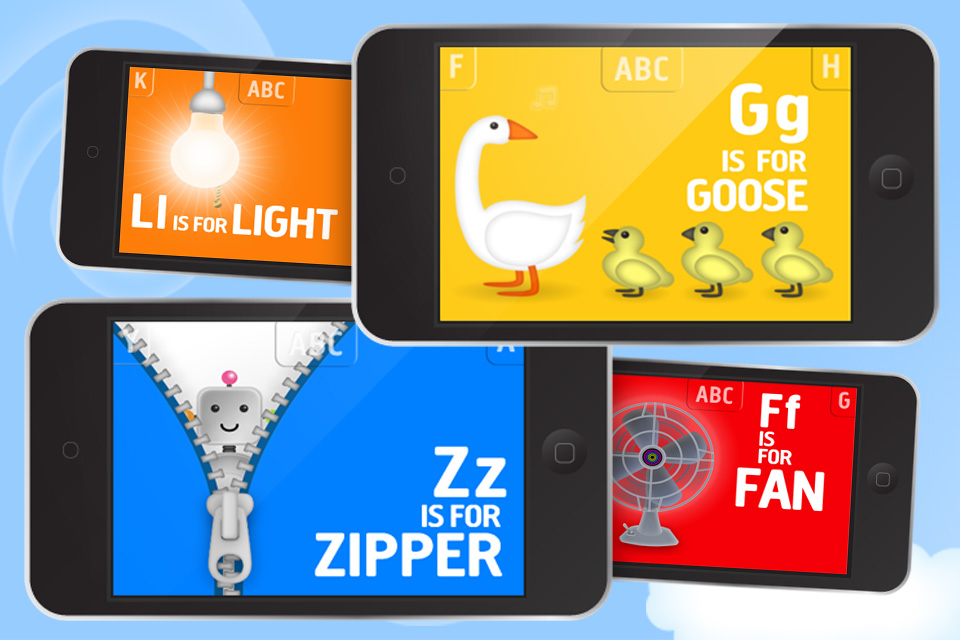 Interactive Alphabet - ABC Flash Cards App - 4