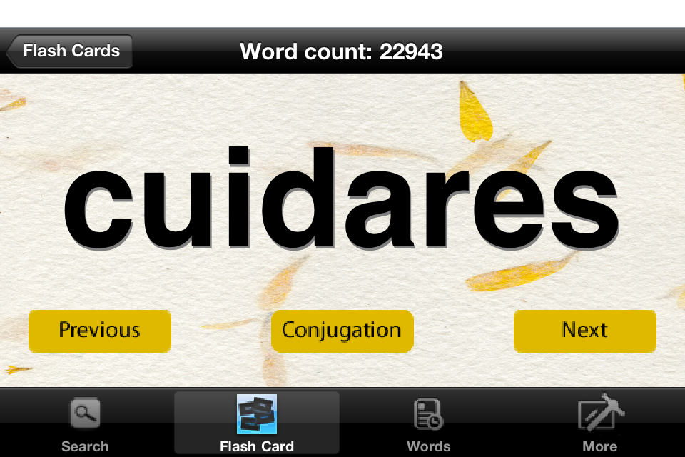 ConjuVerb - Spanish Verb Conjugation Helper-5