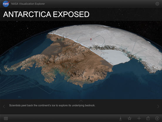 NASA Visualization Explorer App - 1