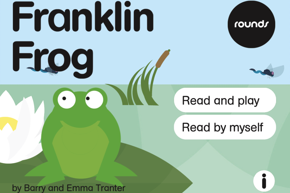 Rounds: Franklin Frog From Nosy Crow-1