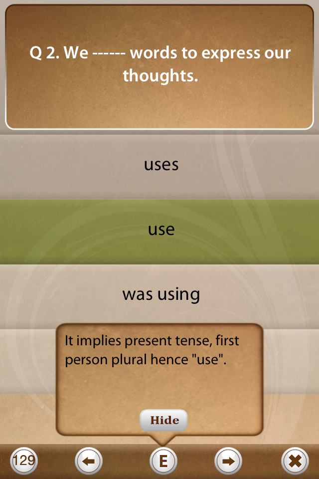 Grammar Express: Tenses-8