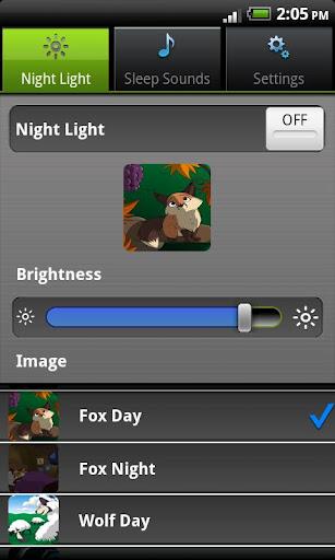 Nightlight & Sleep sounds App - 5