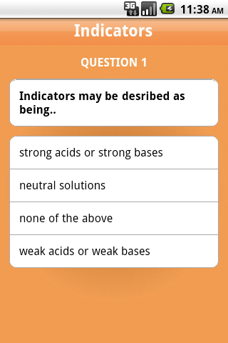 Chemistry A Level App - 2