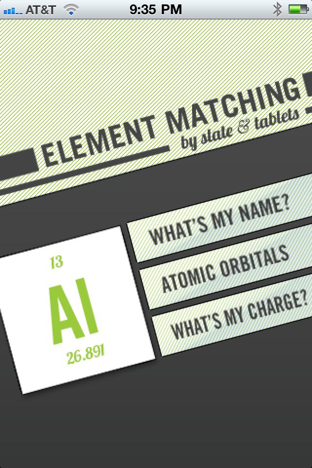 Element Matching-1