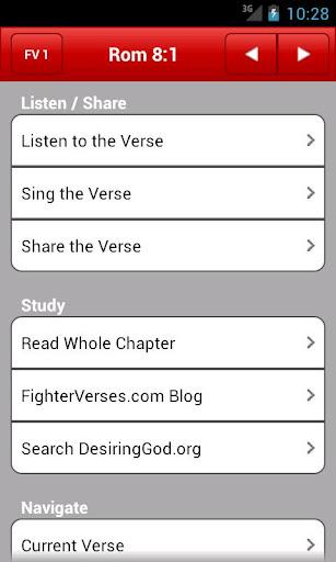 Fighter Verses App - 1