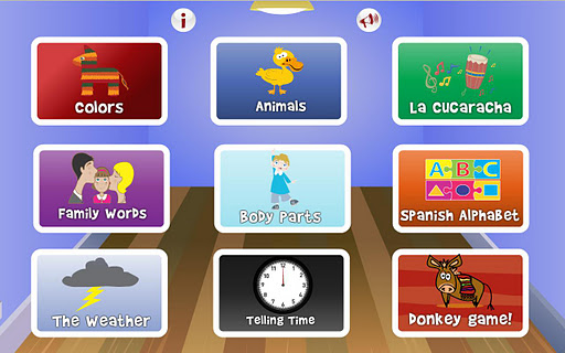 Insta Spanish Kids Lessons App - 1