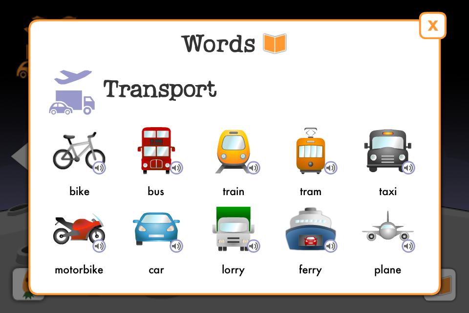 Learn British English words - play Word Carrot language game for free-5