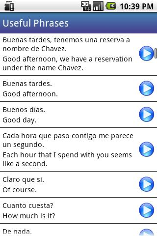 Spanish Class App - 1