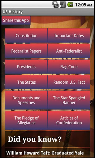 United States History App - 1
