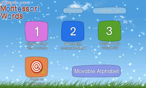 Montessori Words & Phonics App - 3