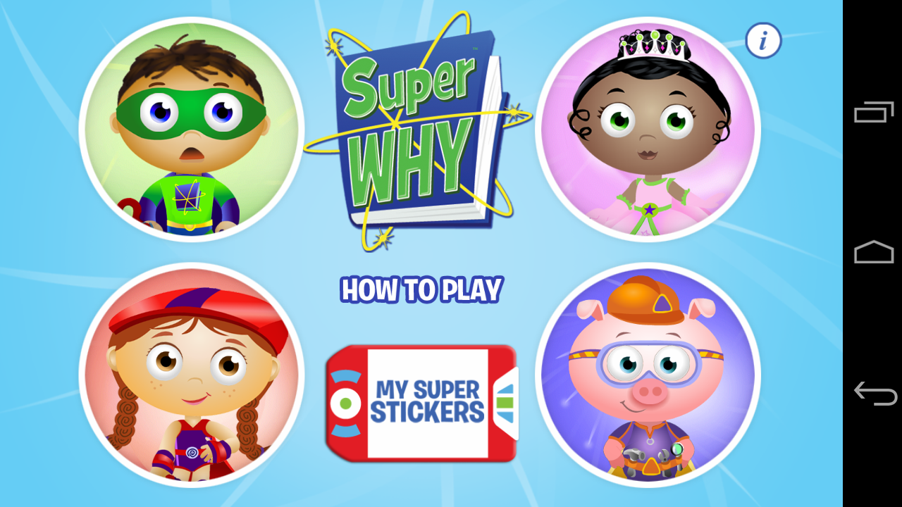Super Why! from PBS KIDS App - 1