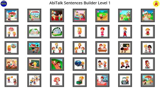 Sentence Builder App - 1