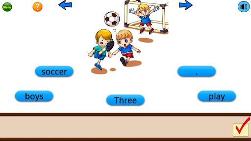 Sentence Builder App - 2