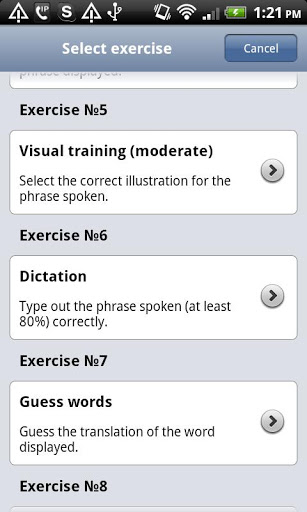 Language Coach for Android App - 4