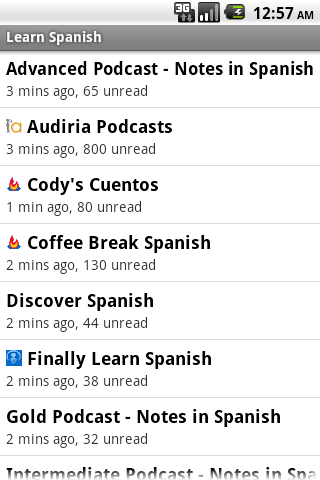 Spanish Podcasts App - 2