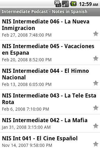 Spanish Podcasts App - 3