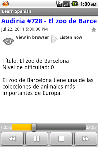 Spanish Podcasts App - 4