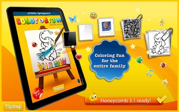 Color & Draw for kids HD App - 1