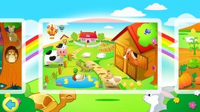 Kids Jigsaw Puzzles Farm HD-4