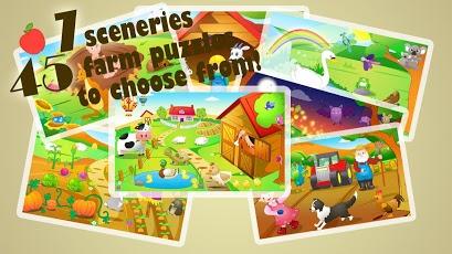 Kids Jigsaw Puzzles Farm HD-5