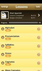 iStart Spanish! Android App - 1