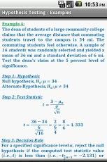 Statistics Quick Reference Pro-4