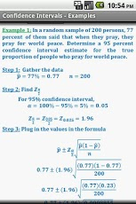 Statistics Quick Reference Pro App - 5