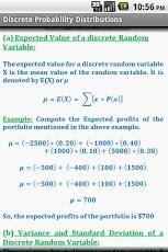 Statistics Quick Reference Pro-7