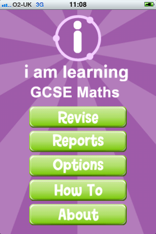 I Am Learning: GCSE Maths App - 1