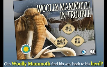Woolly Mammoth In Trouble-1