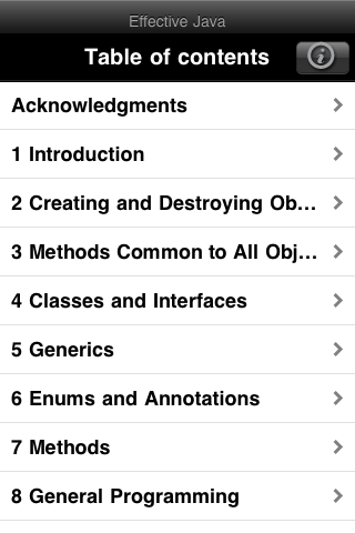 Effective Java App (iPhone)-3
