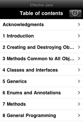 Effective Java App (iPhone)-3