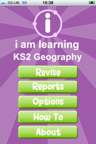 I Am Learning: KS2 Geography App - 1