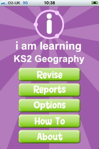 I Am Learning: KS2 Geography
