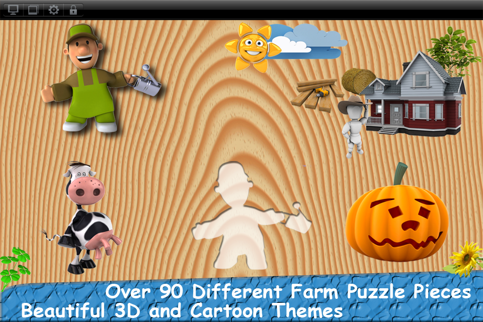 Baby First Puzzle Farm Lite - Best Free Game For The Youngest Kids - Top Fun And Education-1