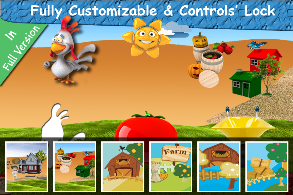 Baby First Puzzle Farm Lite - Best Free Game For The Youngest Kids - Top Fun And Education-2