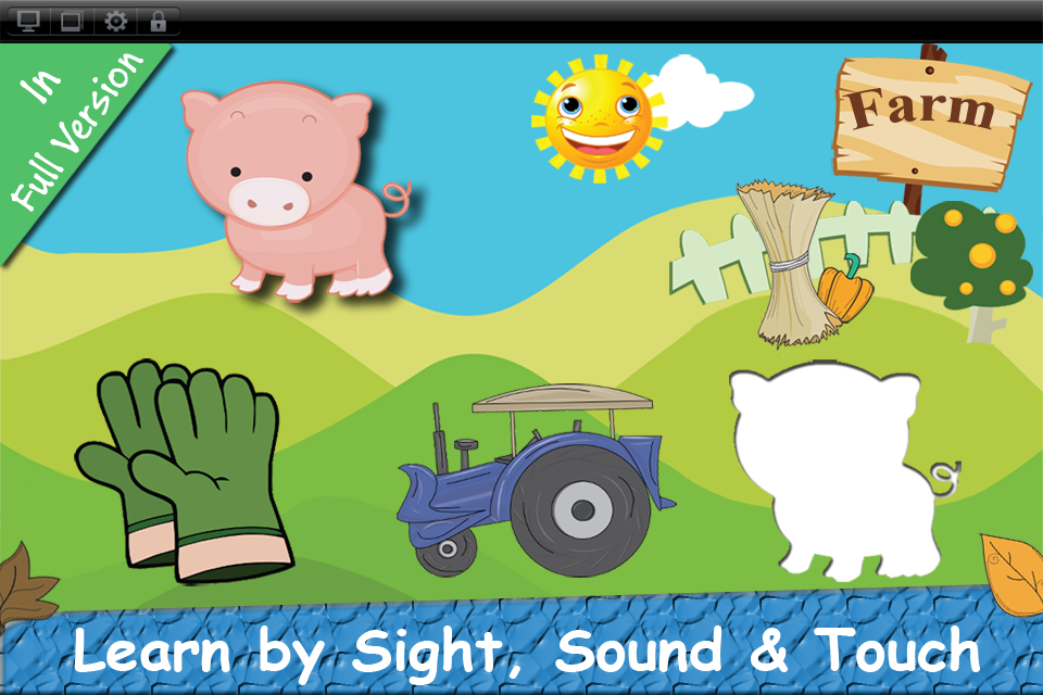 Baby First Puzzle Farm Lite - Best Free Game For The Youngest Kids - Top Fun And Education-3