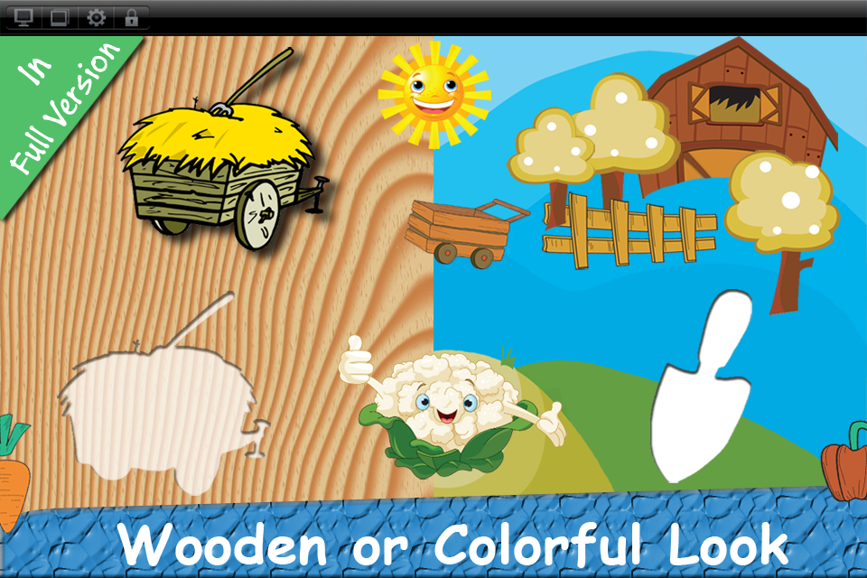 Baby First Puzzle Farm Lite - Best Free Game For The Youngest Kids - Top Fun And Education-4