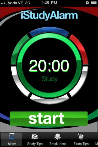 iStudyAlarm App - 1