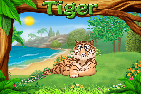 Animals Zoo - Jungle Wild Life Farm Pets Animal Sounds Kids Learning Game HD App - 4