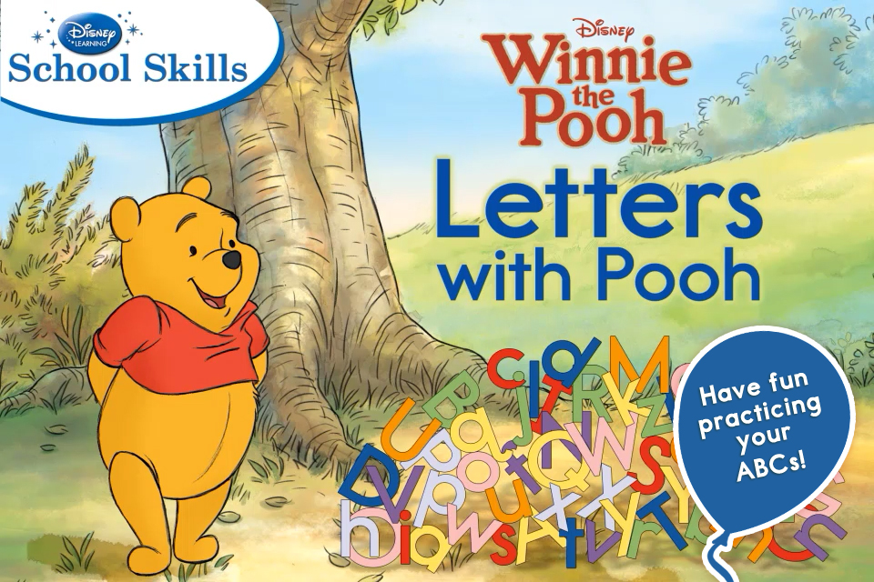 Letters with Pooh App - 1