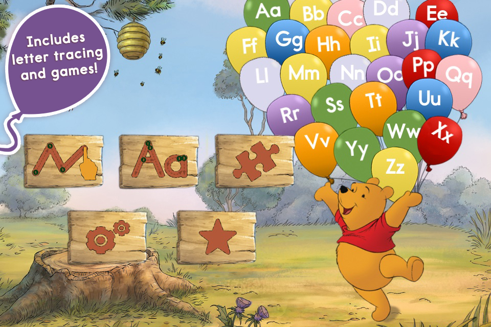 Letters with Pooh App - 2