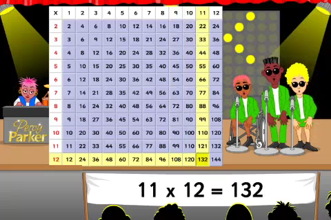 Sing your times tables with Percy Parker-1