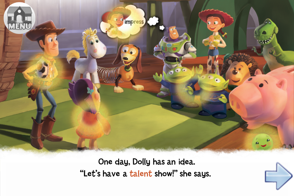 Toy Story Showtime! App - 2