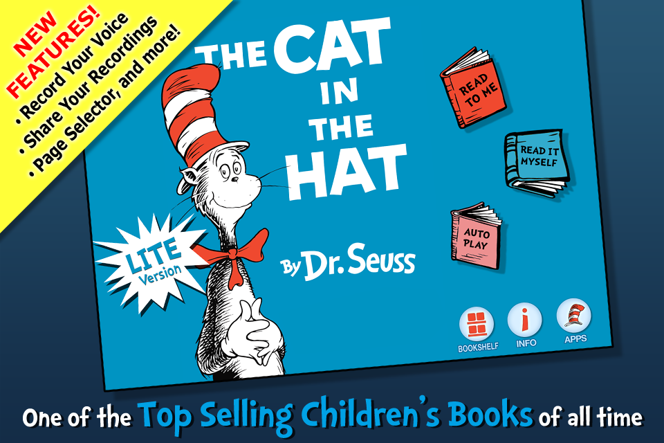 The Cat in the Hat - Dr. Seuss - LITE-1