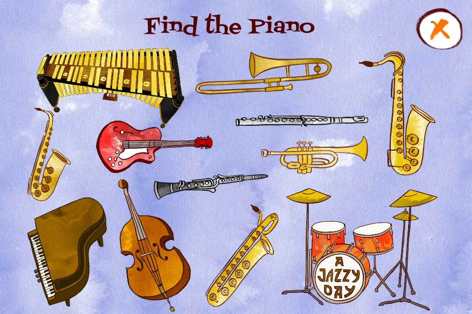 A Jazzy Day - Music Education Book for Kids-2