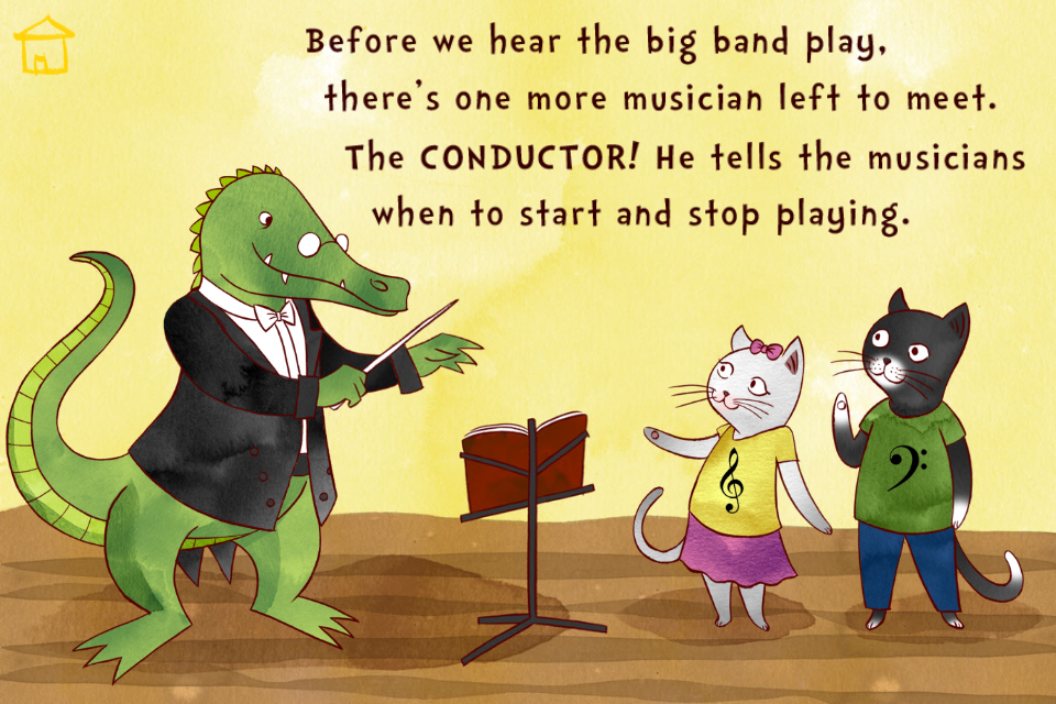 A Jazzy Day - Music Education Book for Kids App - 4