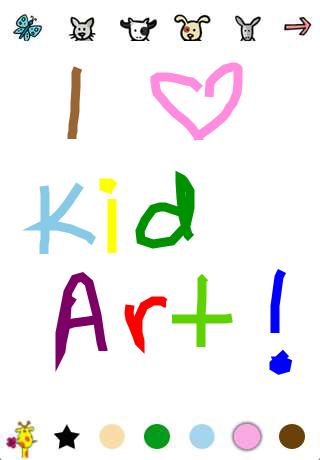Kid Art App - 5